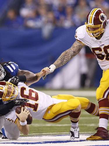 SEMANA 13: Indianapolis Colts 49-27 Washington Redskins