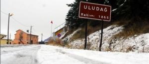 Uludağ'da kar kalınlığı 2,15 metre