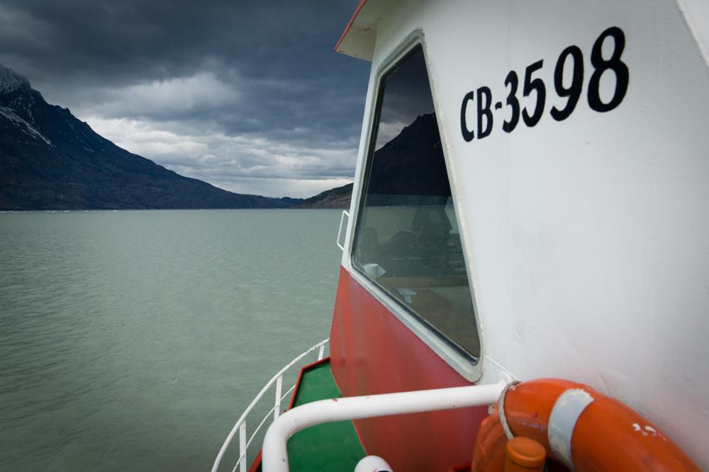 Navigation sur le lac  Graldine Ru