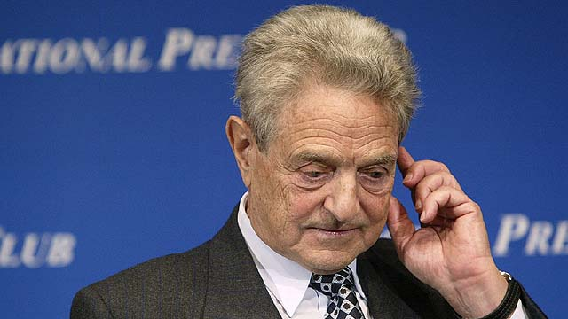 George Soros Ends Speaking Tour On Bush Iraq Policies